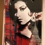 MULTILAYER AMY BREXIT Multilayer stencil on plexiglas and wood board Belongs now to Ettore Panicci in Rome, Italy